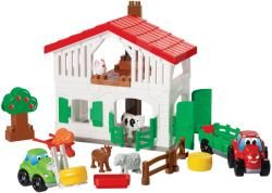 Ecoiffier Abrick Ferma cu tractor şi animale (3032)