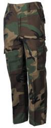 MFH Pantaloni pentru copii MFH BDU model woodland
