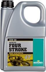 Motorex Four Stroke 15W-50 4T (4L)