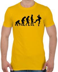 printfashion Fortnite evolúció - Férfi póló - Sárga
