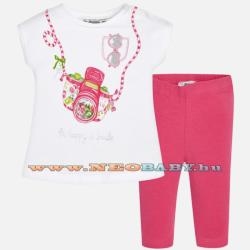 cec959a1c5 6 990 Ft Mayoral Moda Kamera- set leggings-póló /petunie 4j - 9 hó 1797 -