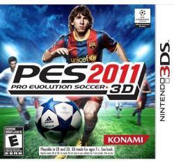 Konami PES 2011 Pro Evolution Soccer 3D (3DS)
