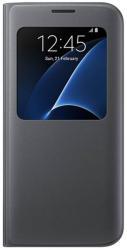 Кожен калъф S View Cover за Samsung Galaxy S7 Edge G935