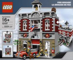 LEGO Creator - Exclusive - Tűzoltóság (10197)