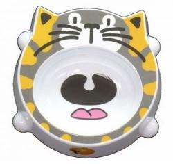 Castron Melamina Pisici Cat Face - 200 Ml 8024