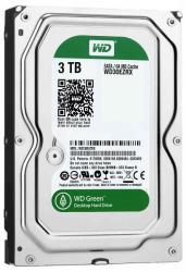"""Western Digital Caviar Green 3.5"""" 3TB 64MB SATA3 WD30EZRX"""