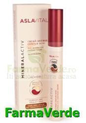 Farmec-gerovital-aslavital Crema antirid contur ochi Aslavital MineralActiv Farmec Crema antirid contur ochi