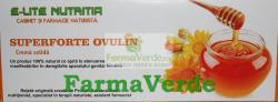 E-lite Nutritia SuperForte Ovulin Formula cu ingrediente BIO Afectiuni Ginecologice 20Bucati Elite Nutritia Deva