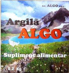 ALGO Argila Algo 1kG Bocan Alba Iulia