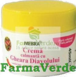 MEBRA crema calmanta cu GHEARA DIAVOLULUI 45 ml