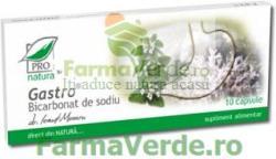 ProNatura Gastro Bicarbonat de Sodiu 10 capsule ProNatura