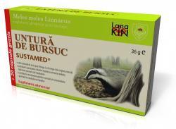SUSTAMED Untura de bursuc 120 Cps Sustamed Antiinflamator, Afectiuni pulmonare