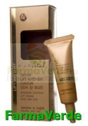 Farmec-gerovital-aslavital Crema lift intensiv contur–ochi si buze Aslavital Lift Instant Crema antirid contur ochi