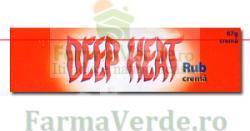 Mentholantum Deep Heat Rub Crema Dureri 67 gr Mentholantum