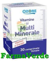 LABORMED Vitamine si Multiminerale 30 cpr Ozone Labormed