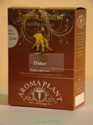 Aroma Plant Ceai Reglare Glicemie AntiDiabetic Tratament 1 luna Bonchis