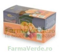 Management&development Services Mds Ceai Fructe Valdena Capsune & Portocale ECO 20 plicuri MDS