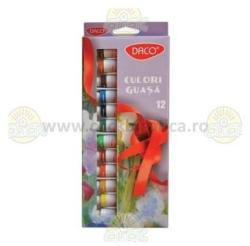 Daco Guase 12 Culori 12 Ml Daco - Cu212