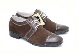 Lucianis style Pantofi maro barbati casual - eleganti din piele naturala - Made in Romania - bravoshop - 139,82 RON