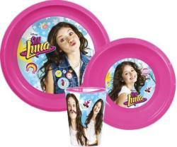 Disney - Soy Luna étkészlet, műanyag szett (QEL10027)