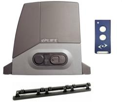 Life Home Integration Задвижване за плъзгаща врата - Life Acer Easy 400 кг. + 4 м рейка