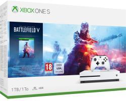 Microsoft Xbox One S (Slim) 1TB + Battlefield V Deluxe Edition