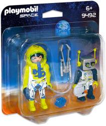 Playmobil Astronaut şi robot (9492)