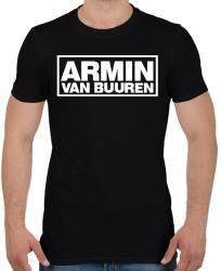 printfashion Armin Van Buuren - Férfi póló - Fekete