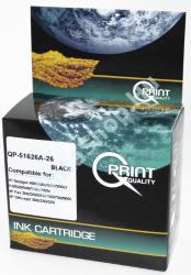 Q-Print (Quality Print) HP 51626A (No. 26) BK fekete (BK-Black) kompatibilis (utángyártott) tintapatron