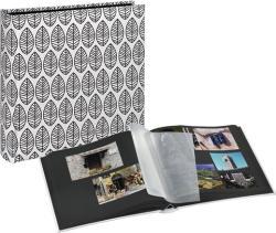 Hama Fleur Jumbo 400/10x15 fehér fotóalbum fekete lapokkal (2220)