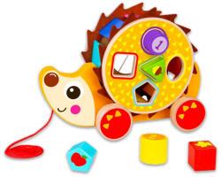 Tooky Toy Húzható süni formaválogatóval