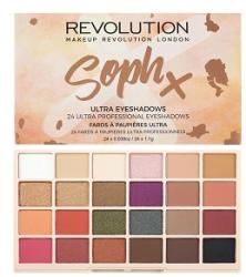 Makeup Revolution Sophx Ultra Eyeshadows Palette 24 g