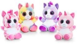 Keel Toys Animotsu Nagyszemű színes unikornis 25cm