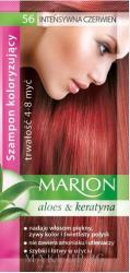 Marion Шампоан за коса с алое, придаващ оттенък - Marion Color Shampoo With Aloe 56 - Intense Red