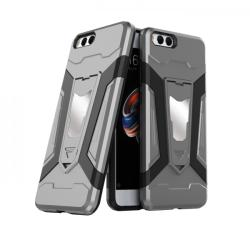 krasscom Husa antisoc cu stand metalic pentru suport magnetic Xiaomi MI Note 3, gri (ARMOR022) - vexio