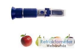 RHW-25BATC gyümölcs refraktométer 0-40 BRIX% + teor. alkohol