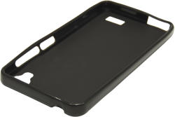 Husa silicon neagra (cu spate mat) pentru Allview P5 eMagic