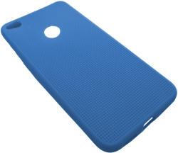 Husa silicon Mesh (retea) albastra pentru Huawei P8 Lite 2017 (P9 Lite 2017)