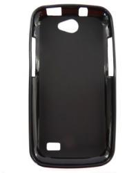 Husa silicon neagra (cu spate mat) pentru Allview A5 Duo