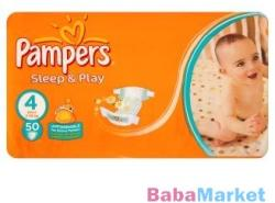 Pampers Sleep & Play 4 Maxi (7-14kg) 50db