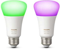 Philips Hue White and color ambiance E27 2x (8718696729052)
