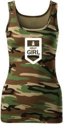 WARAGOD maieu damă army girl, camuflaj 180g/m2