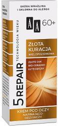 AA Cremă nutritivă pentru ochi 60+ - AA Age Technology 5 Repair Eye Cream 60+ 15 ml Crema antirid contur ochi
