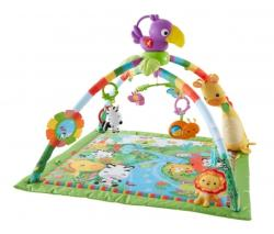 Fisher-Price - Saltea Activitati Rainforest Deluxe Gym (FP_DFP08)