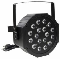 18 Led stroboszkóp mini disco lámpa hangvezérlés
