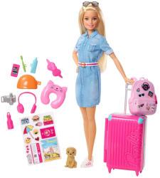 Mattel Barbie - Dreamhouse Adventures - Barbie baba utazó kiegészítőkkel