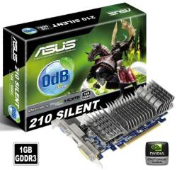 ASUS GeForce 210 Silent 1GB GDDR3 64bit PCIe (EN210 SILENT/DI/1GD3/V2(LP))