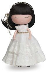 Anekke Menyasszony baba csipke fejdísszel (20610MU)