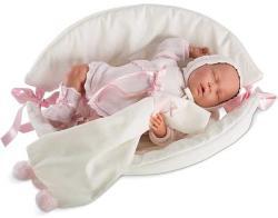 Llorens Édes álmok síró újszülött baba - 40 cm