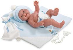 Llorens Újszülött pelenkás fiú baba - 26 cm (WC-J38938)